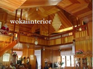 interior rumah kayu