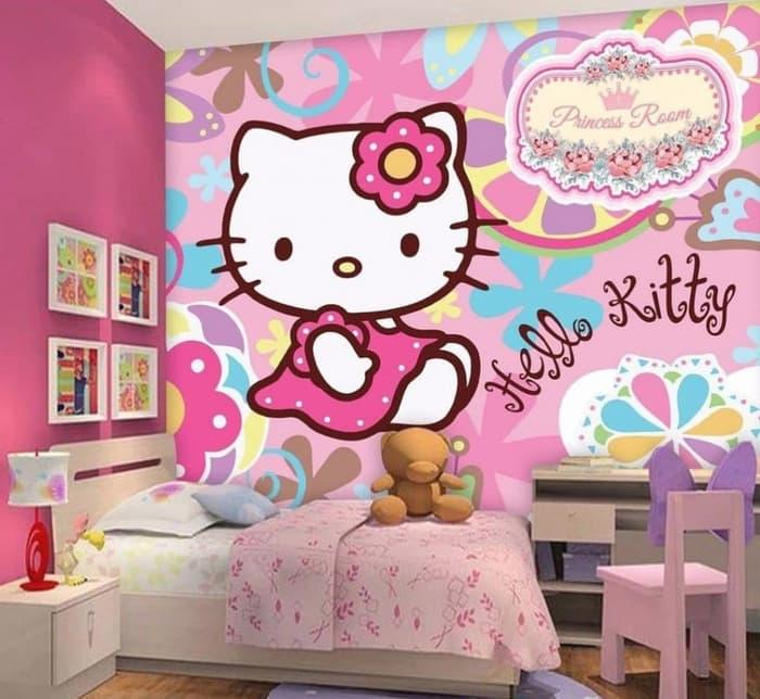 Wallpaper dengan motif kartun1
