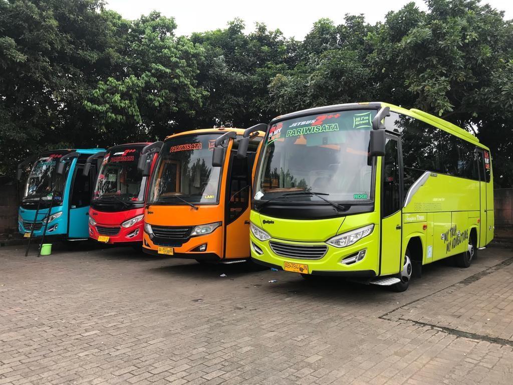 4 Jasa Sewa Bus Pariwisata Murah