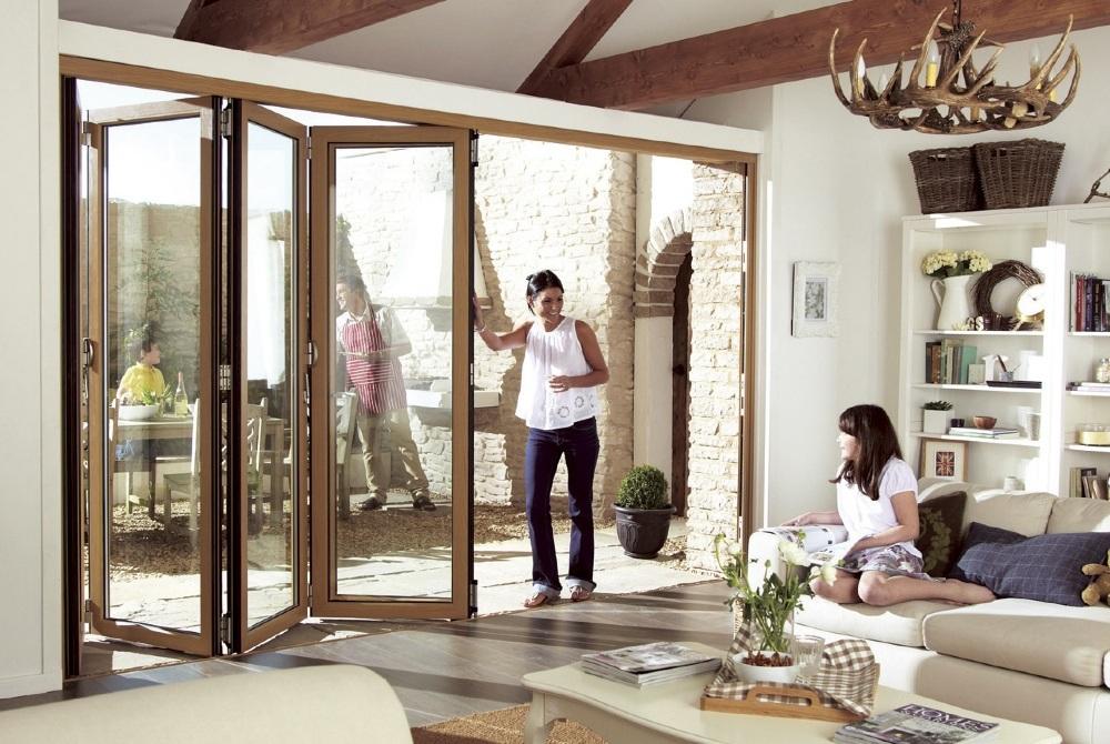Folding Door Di Rumah