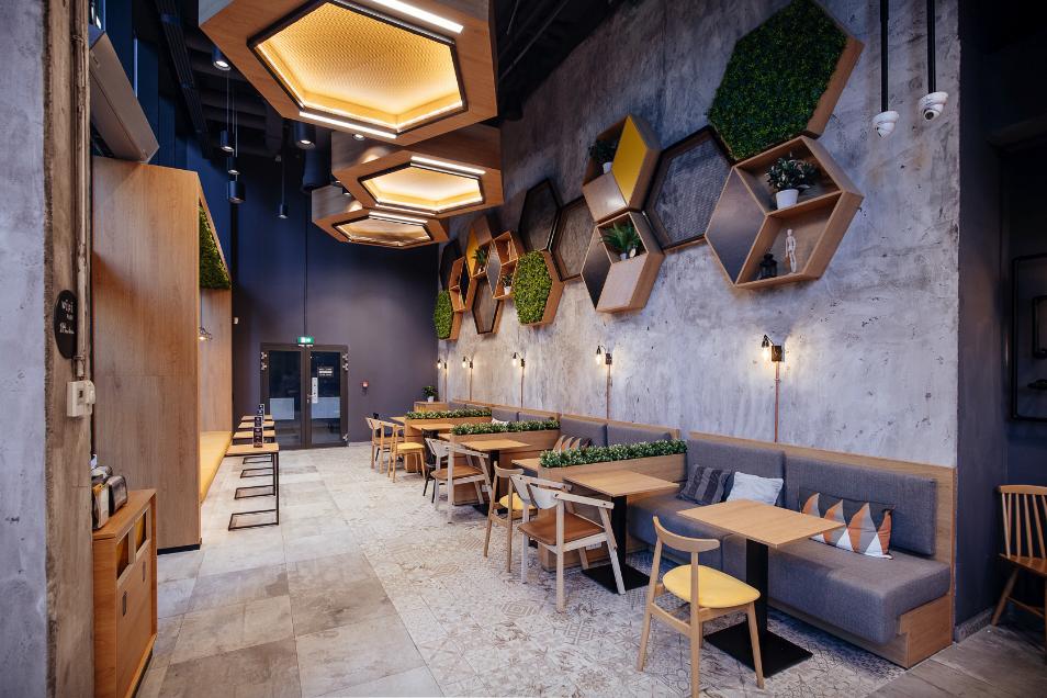 Café Dengan Desain Milenial